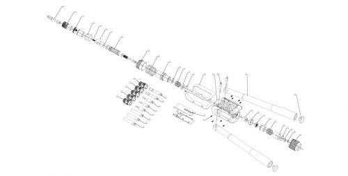 popnageltang Pull-link ASN-12 PT onderdelenoverzicht