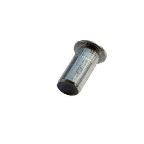 Blindklinkmoer verzonken kop staal gekarteld gesloten type