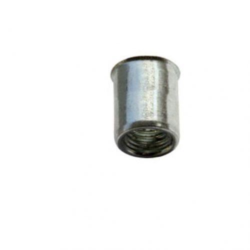 Blindklinkmoer klein verzonken kop staal ronde schacht