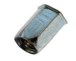 Staal zeskant / open type